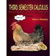 Third Semester Calculus: Student Supplement, Paperback (9780945962496)