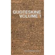 Quoteskine. Volume 1, Hardcover (9780955912191)
