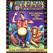 How to Play Djembe [With CD], Paperback (9780963880147)