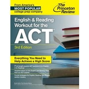 English & Reading Workout for the ACT, 0003, Paperback (9781101881682)