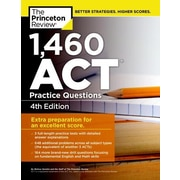 1,460 ACT Practice Questions, 0004, Paperback (9781101882313)
