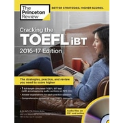 Cracking the TOEFL iBT [With Audio CD], Paperback (9781101882481)