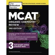 MCAT Organic Chemistry Review, 3rd Edition, Paperback (9781101920589)