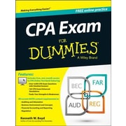 CPA Exam for Dummies with Access Code, Paperback (9781118813737)