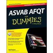 ASVAB AFQT for Dummies, 0002, Paperback (9781118817780)