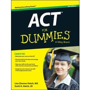 ACT for Dummies, 0006, Paperback (9781118911563)