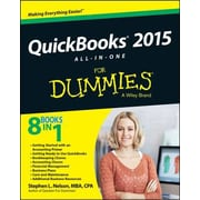 QuickBooks 2015 All-In-One for Dummies, Paperback (9781118920176)