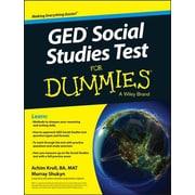 GED Social Studies Test for Dummies, Paperback (9781119029830)