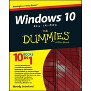 Windows 10 All-In-One for Dummies, Paperback (9781119038726)