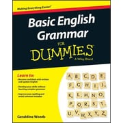 Basic English Grammar for Dummies, Paperback (9781119063476)