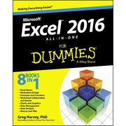 Excel 2016 All-In-One for Dummies, Paperback (9781119077152)