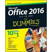 Office 2016 All-In-One for Dummies, Paperback (9781119083122)