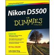 Nikon D5500 for Dummies, Paperback (9781119102113)