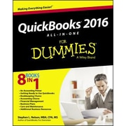 QuickBooks 2016 All-In-One for Dummies, Paperback (9781119126072)