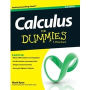 Calculus for Dummies, 0002, Hardcover (9781119173991)