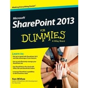 Sharepoint 2013 for Dummies, Hardcover (9781119176077)
