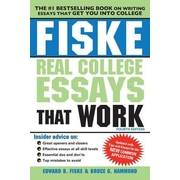 Fiske Real College Essays That Work, 0004, Paperback (9781402295768)