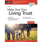 Make Your Own Living Trust, 0012, Paperback (9781413321005)