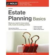 Estate Planning Basics, 0008, Paperback (9781413321760)