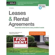 Leases & Rental Agreements, 0011, Paperback (9781413321807)