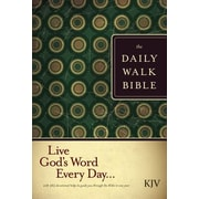 Daily Walk Bible-KJV, Hardcover (9781414316901)