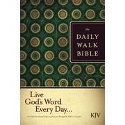 Daily Walk Bible-KJV, Paperback (9781414316918)