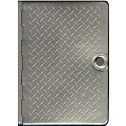 Metal Bible-NLT-Metal Diamond Plate, Hardcover (9781414354545)