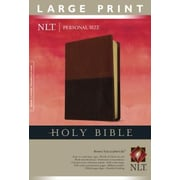 Personal Size Large Print Bible-NLT, Hardcover (9781414368320)