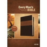Every Man's Bible-NIV-Deluxe Heritage, Hardcover (9781414381107)