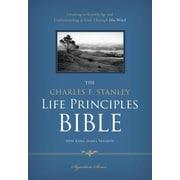 Charles F. Stanley Life Principles Bible-NKJV, Hardcover (9781418550332)