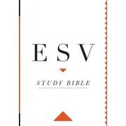 Study Bible-ESV-Large Print, Hardcover (9781433544132)