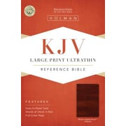 Large Print Ultrathin Reference Bible-KJV, Hardcover (9781433615542)