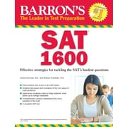 Barron's SAT 1600: Revised for the New SAT, Paperback (9781438006192)