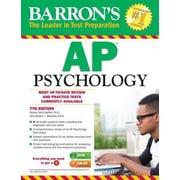 Barron's AP Psychology, 0007, Paperback (9781438007434)