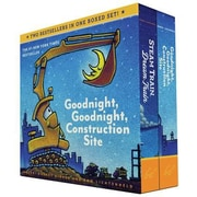 Goodnight, Goodnight, Construction Site and Steam Train, Dream Train Set, Hardcover (9781452146980)