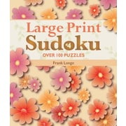 Large Print Sudoku #4: Over 100 Puzzles, Paperback (9781454902850)