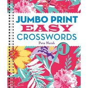 Jumbo Print Easy Crosswords #1, Paperback (9781454909958)
