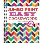 Jumbo Print Easy Crosswords #2, Paperback (9781454912309)