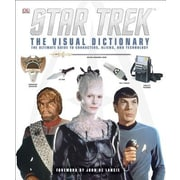 Star Trek: The Visual Dictionary, Hardcover (9781465403377)