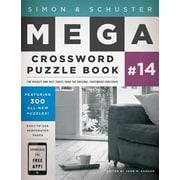 Simon & Schuster Mega Crossword Puzzle Book #14, Paperback (9781476785455)