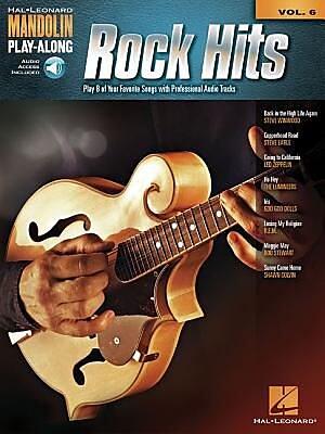Rock Hits: Mandolin Play-Along Volume 6, Paperback (9781480342842) 2352207