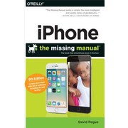 iPhone: The Missing Manual, 0009, Paperback (9781491917916)