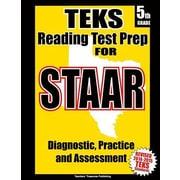 Teks 5th Grade Reading Test Prep for Staar, Paperback (9781500659691)