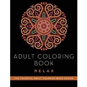 Adult Coloring Book: Relax, Paperback (9781510711211)