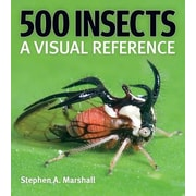 500 Insects: A Visual Reference, Hardcover (9781554073450)