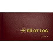 The Standard Pilot Log, Burgandy, Hardcover (9781560273295)