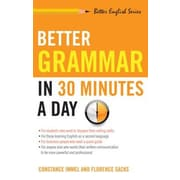 Better Grammar in 30 Minutes a Day, Paperback (9781564142047)