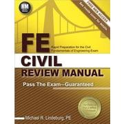 FE Civil Review Manual, Paperback (9781591264392)