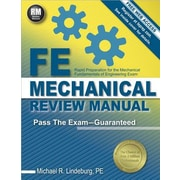 FE Mechanical Review Manual, Paperback (9781591264415)