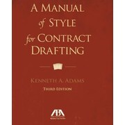 A Manual of Style for Contract Drafting, 0003, Paperback (9781614388036)
